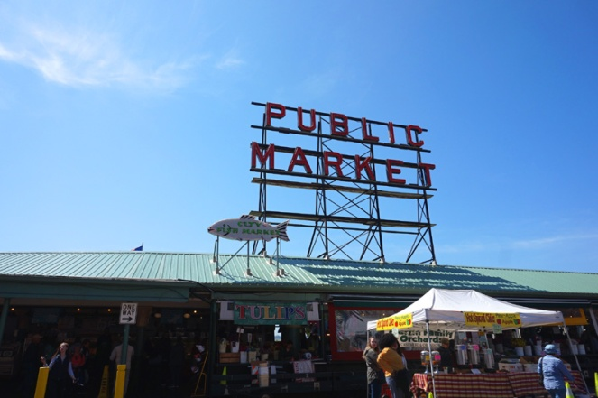 Pike Public Market, Seattle, USA