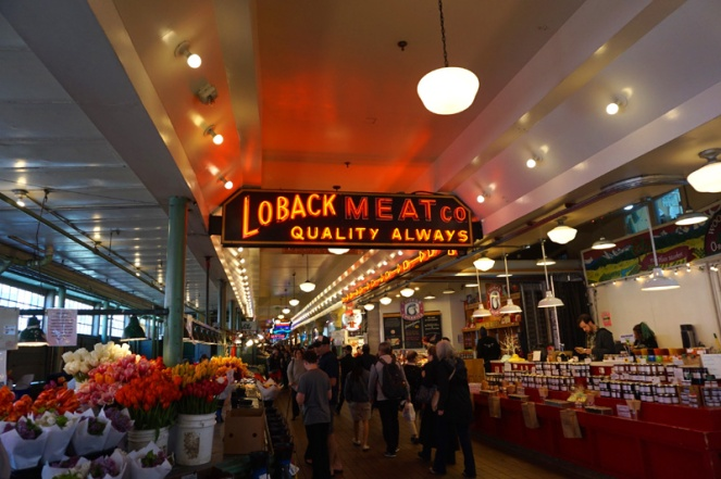 Pike Place Public Market, Seattle, USA