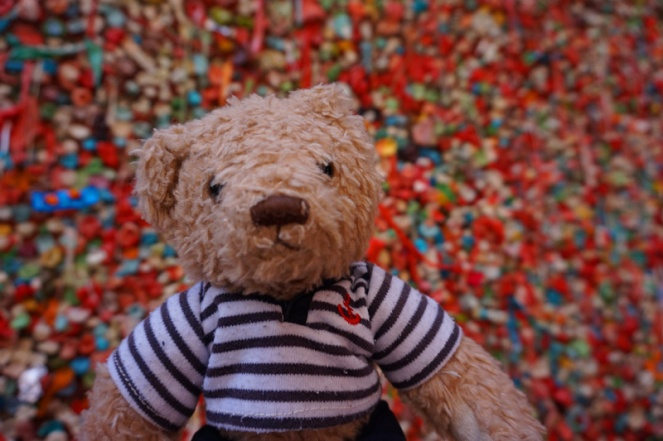 Gum Wall, Seattle, USA