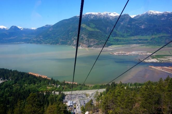Sea To Sky gondola, Squamish, BC, Canada