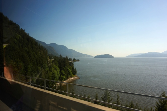 Sea To Sky highway, BC, Canada