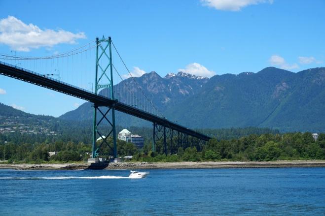 Lion's Gate Bridge, Stanley Park, Vancouver, Canada