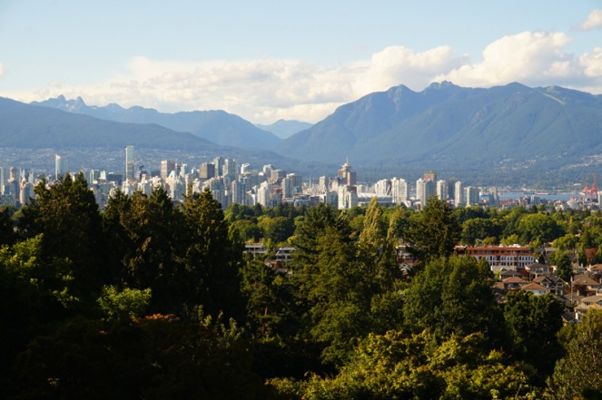Vancouver from Queen Elizabeth Park, Canada