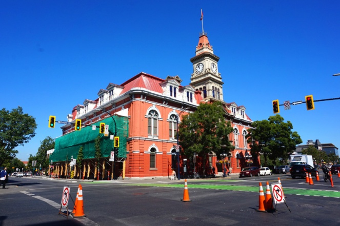 Victoria City Hall, BC, Canada