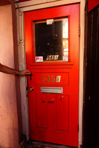 545 1/2 doorway, Fan Tan Alley, Victoria, BC, Canada
