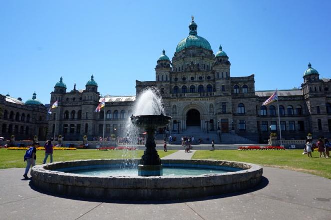 Parliament, Victoria, BC, Canada