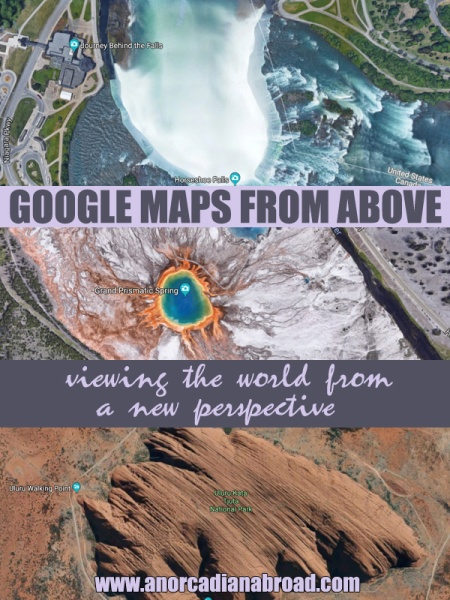 Google Maps From Above: Viewing The World & Its Landmarks From A New Perspective. Did you know what Uluru, Niagara Falls and the Statue Of Liberty look like from above? Really cool, actually!