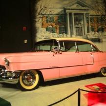Elvis Presley's pink cadillac, Graceland, USA