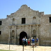The Alamo, San Antonio, Texas, USA