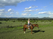Horse riding, Bandera, Texas, USA