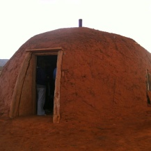 Hogan mud hut, Monument Valley, Utah, USA