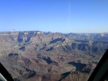 Grand Canyon from the air, Arizona, USA