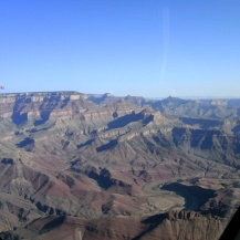 Grand Canyon from the air, Arizona, USA