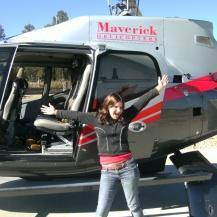 Grand Canyon helicopter, Arizona, USA