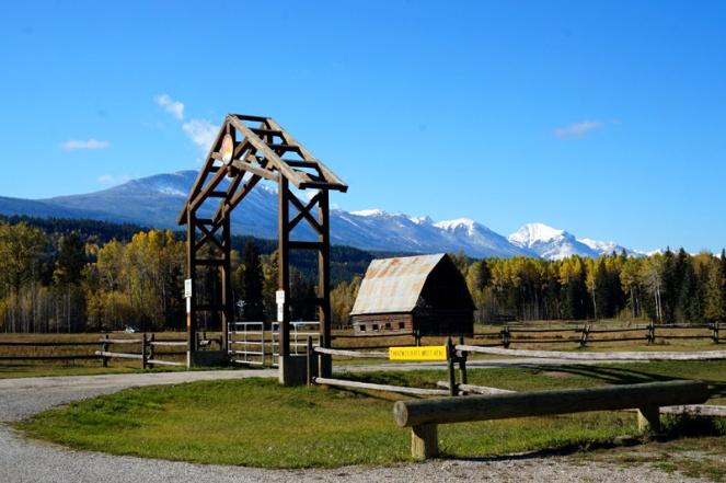 Paragliding centre, Golden, BC, Canada