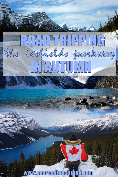 Road Tripping Canada's Icefields Parkway In Autumn #roadtrip #mountains #travel