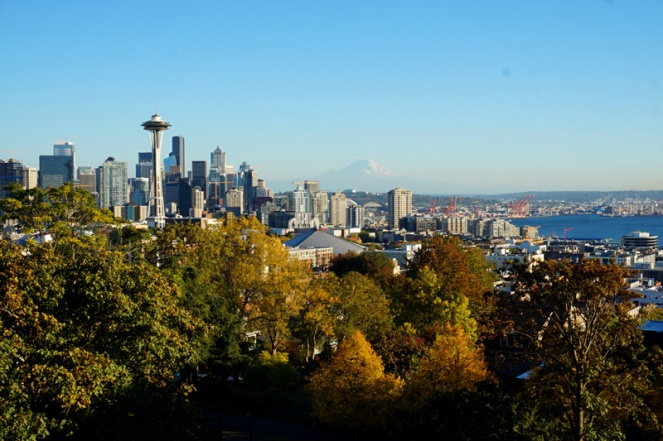 View from Kerry Park, Seattle, USA