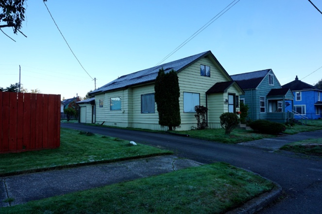 Kurt Cobain's childhood home, Aberdeen, WA, USA