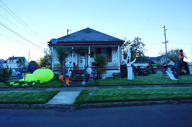 Halloween house, Aberdeen, WA, USA