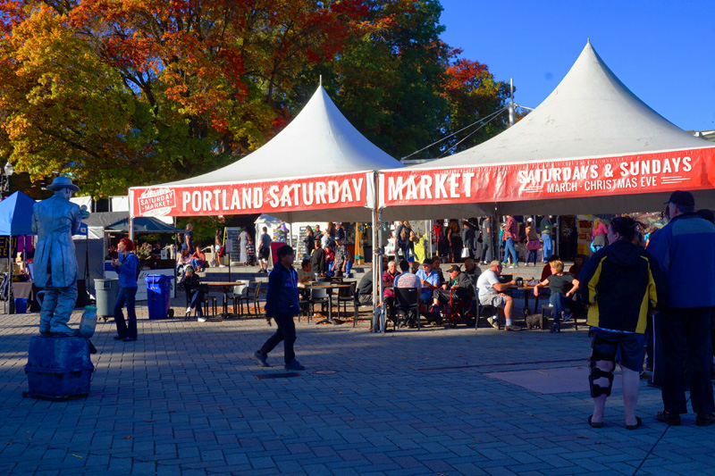 Portland Saturday Market - Saturdays & Sundays, Portland, Oregon