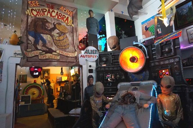 Freakybuttrue Peculiarium, Portland, Oregon