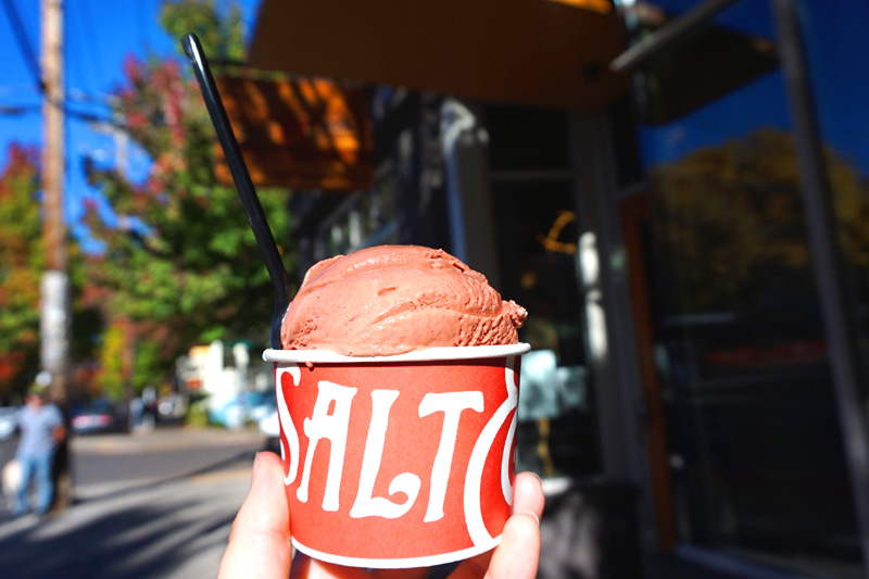 Salt & Straw ice cream, Portland, Oregon