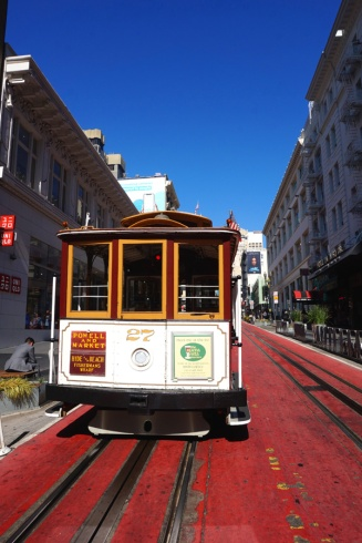 Cable car tram, San Francisco