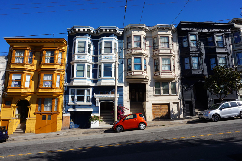 Pretty houses, San Francisco