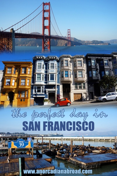 The Perfect Day In San Francisco - see all the sights by public transport using this perfect day itinerary!