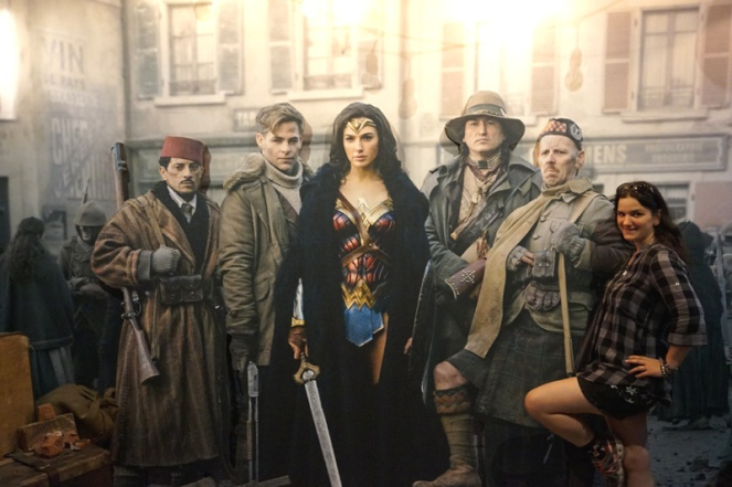 Wonder Woman, Warner Brothers Studio Tour Hollywood, LA, USA