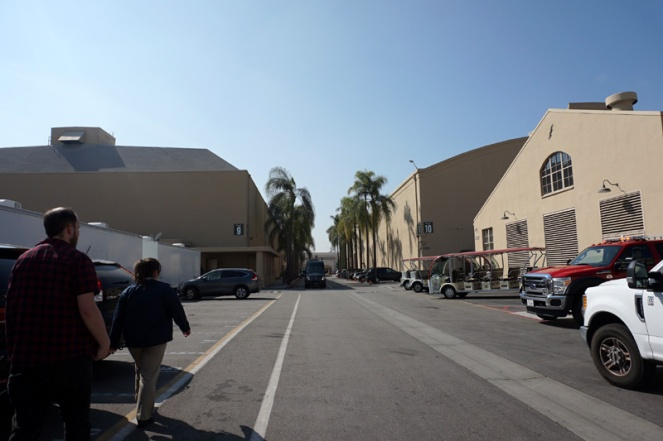 Sound stages, Warner Brothers Studio Tour Hollywood, LA, USA