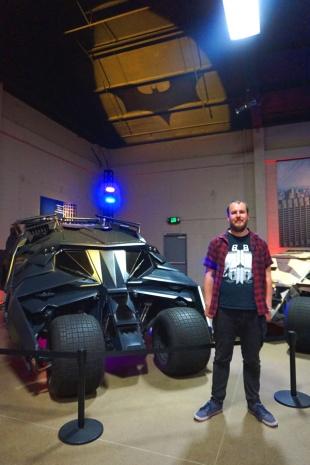 Batmobile, Warner Brothers Studio Tour Hollywood, LA, USA