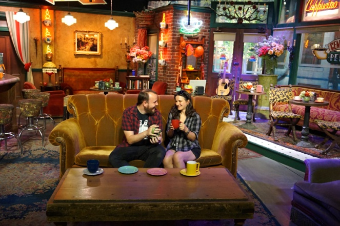 Central Perk cafe, Warner Brothers Studio Tour Hollywood, LA, USA