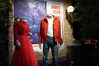 James Dean outfit, Warner Brothers Studio Tour Hollywood, LA, USA