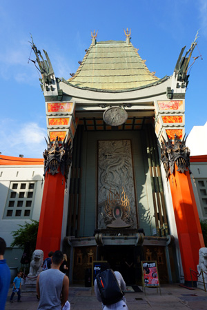Chinese Theatre, Hollywood Boulevard, LA, USA