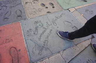 Samuel L Jackson - Grauman's Chinese Theatre, Hollywood Boulevard, LA, USA