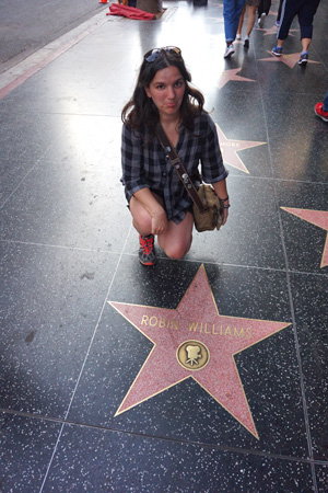 Hollywood Walk Of Fame, LA, USA
