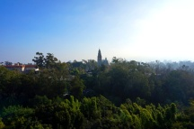 Skyfari, view of Bilboa Park, San Diego Zoo, USA