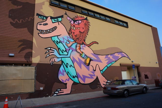Street art, North Park, San Diego, USA