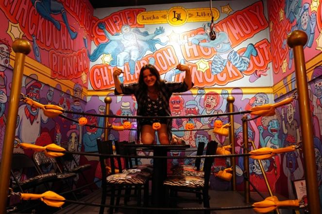 Lucha Libre Taco Shop, University Avenue, San Diego, USA