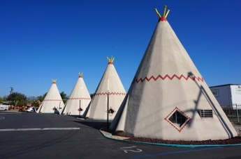Wig Wam Motel, San Bernardino, California, USA