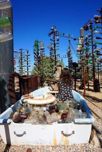 Elmer's Bottle Tree Ranch, California, USA