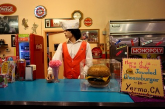 Peggy Sue 50's diner, Barstow, California, USA