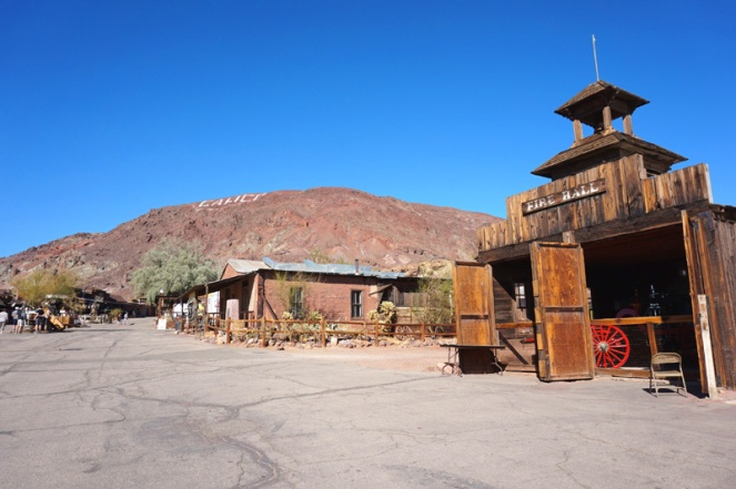 Calico ghost town, California, USA
