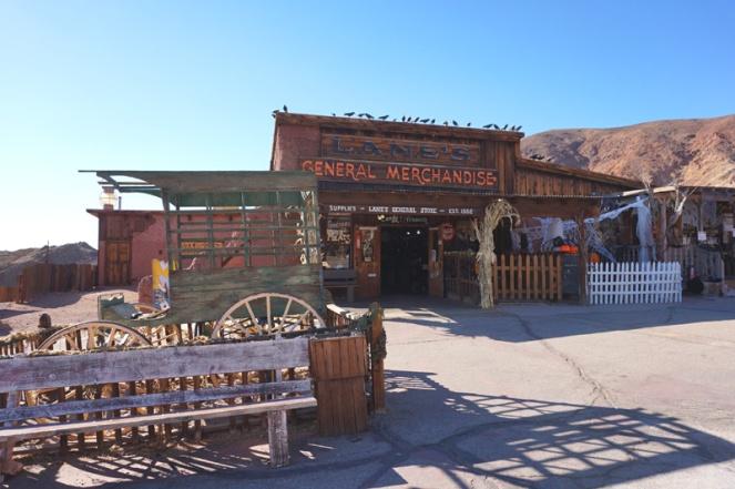 Calico ghost town, California, USA