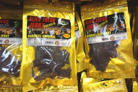 Alien Jerky, Baker, California, USA