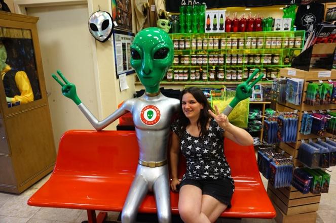 Alien Jerky, Baker, California, USA