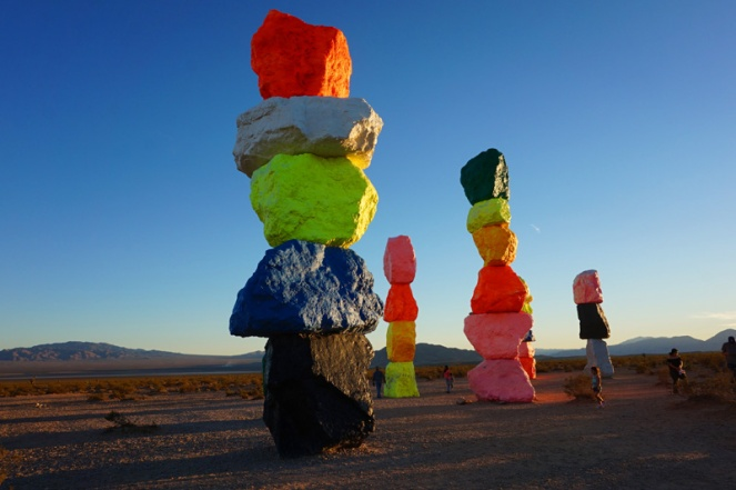 Seven Magic Mountains, Nevada, USA