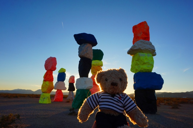 Seven Magic Mountains, Nevada, USA