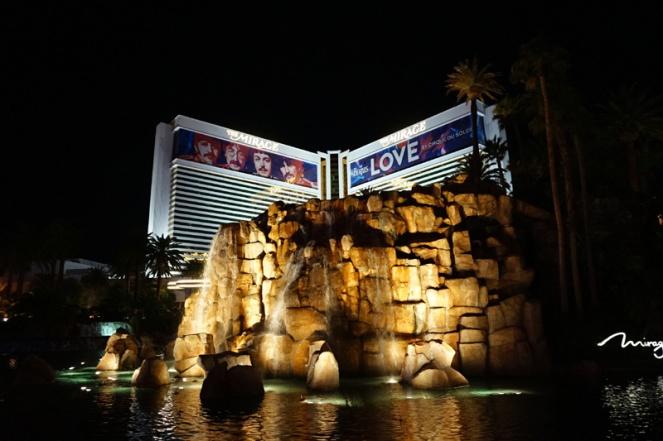 Mirage, Las Vegas, USA